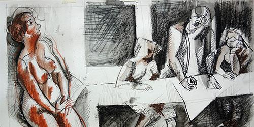 Künstler und Modelle